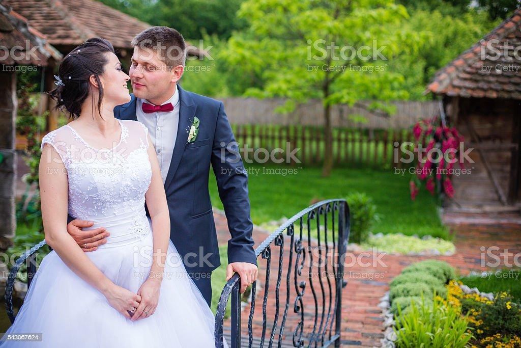 Beautiful romance stock photo