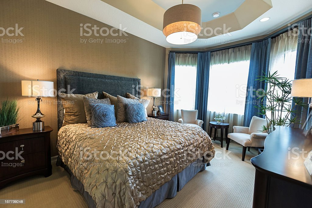 beautiful romantic bedroom royalty-free stock photo