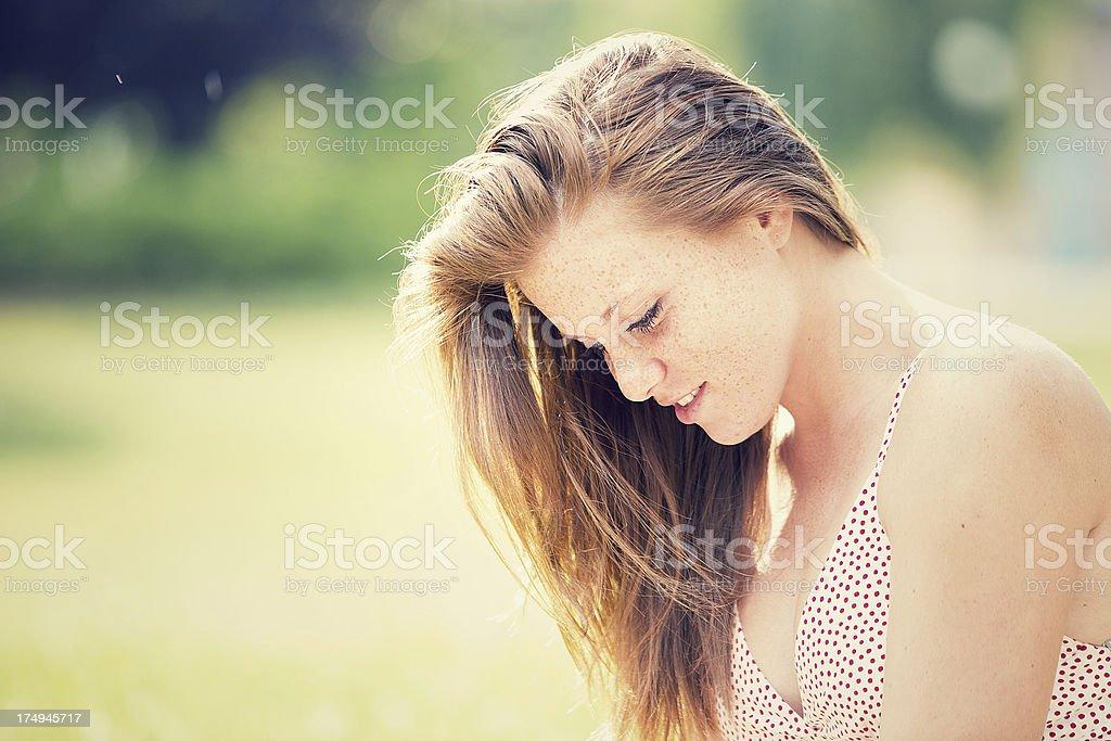 Beautiful romantic girls royalty-free stock photo