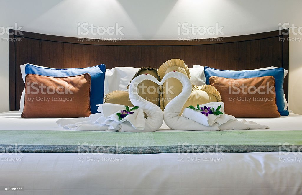 Beautiful Romantic Suite Interior royalty-free stock photo