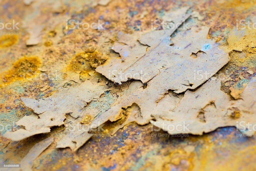 Beautiful Rusty Metal stock photo