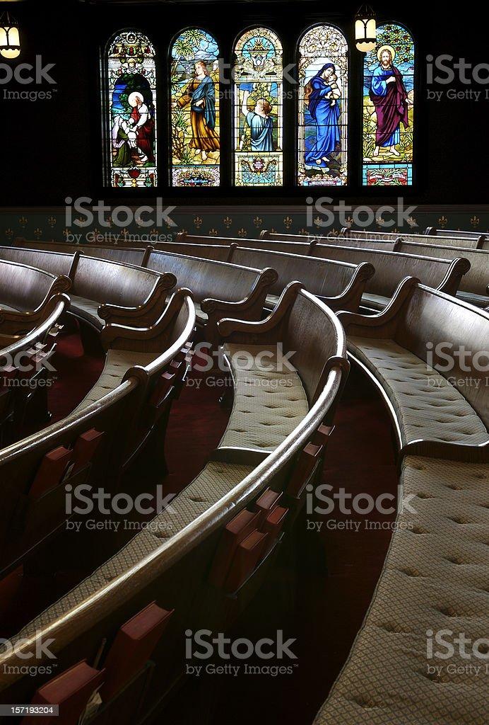 Beautiful Sanctuary royalty-free stock photo