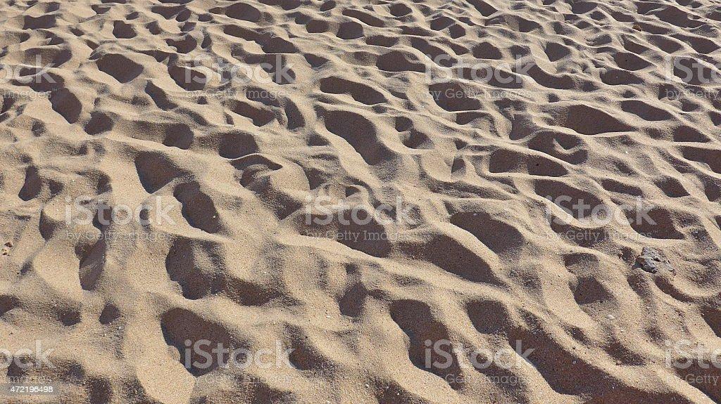 Hermosa playa de arena foto de stock libre de derechos