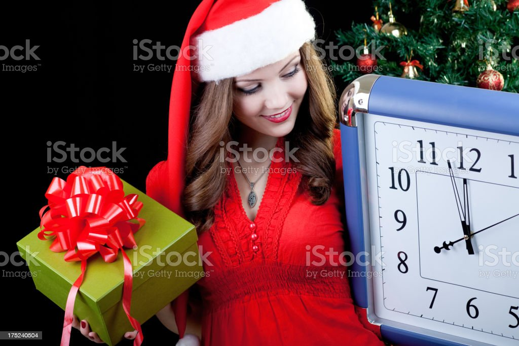 beautiful santa royalty-free stock photo