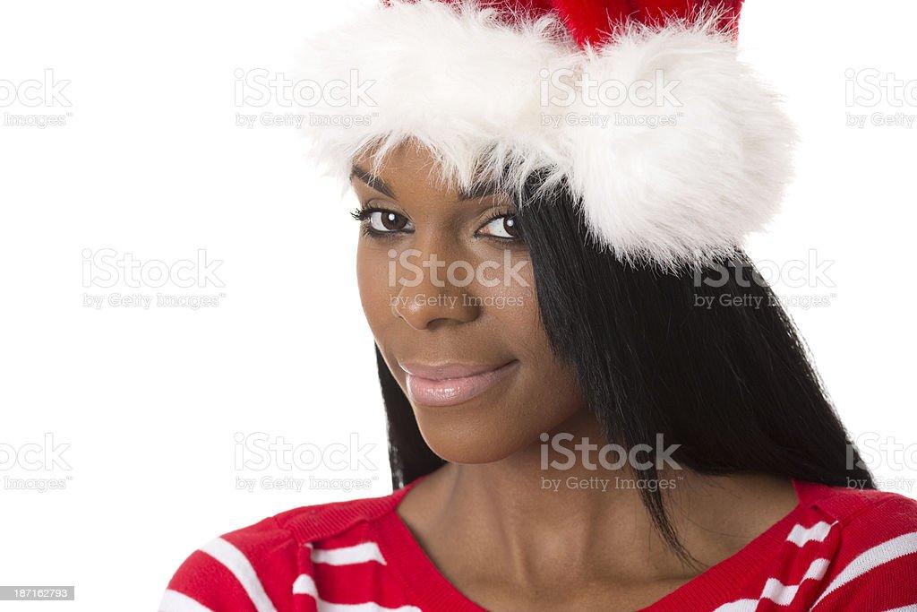 beautiful santa royalty-free stock photo