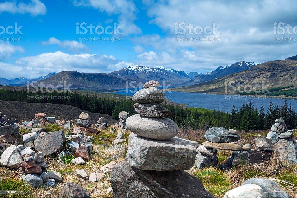 Beautiful Scotland. stock photo