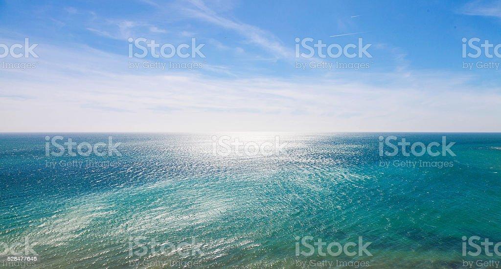 Beautiful, sea landscape stock photo