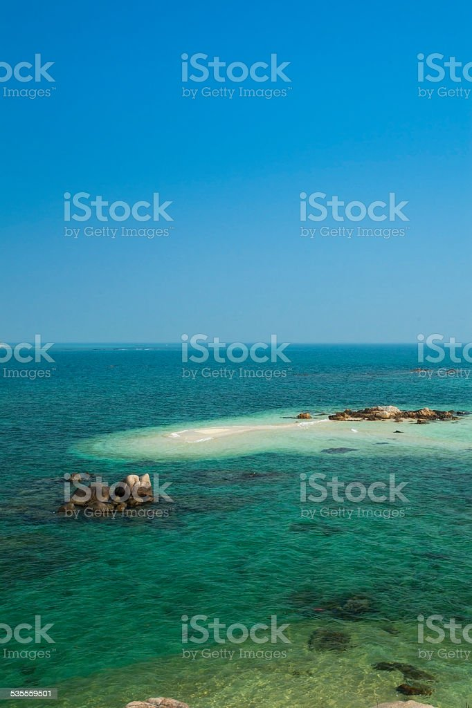 Beautiful sea stock photo