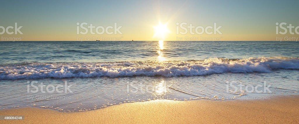Beautiful seascape stock photo