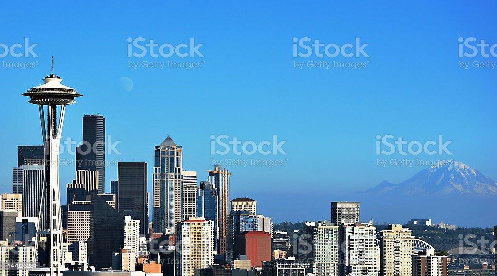 Beautiful Seattle royalty-free stock photo