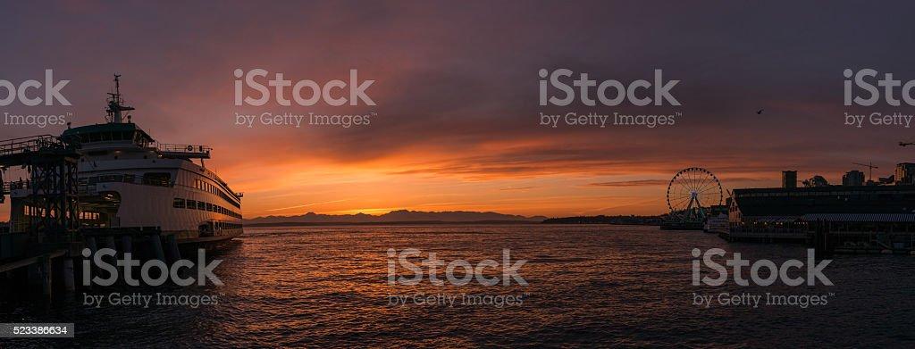 Beautiful Seattle stock photo