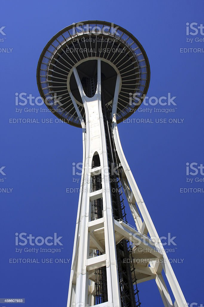 Beautiful Seattle Space Needle royalty-free stock photo