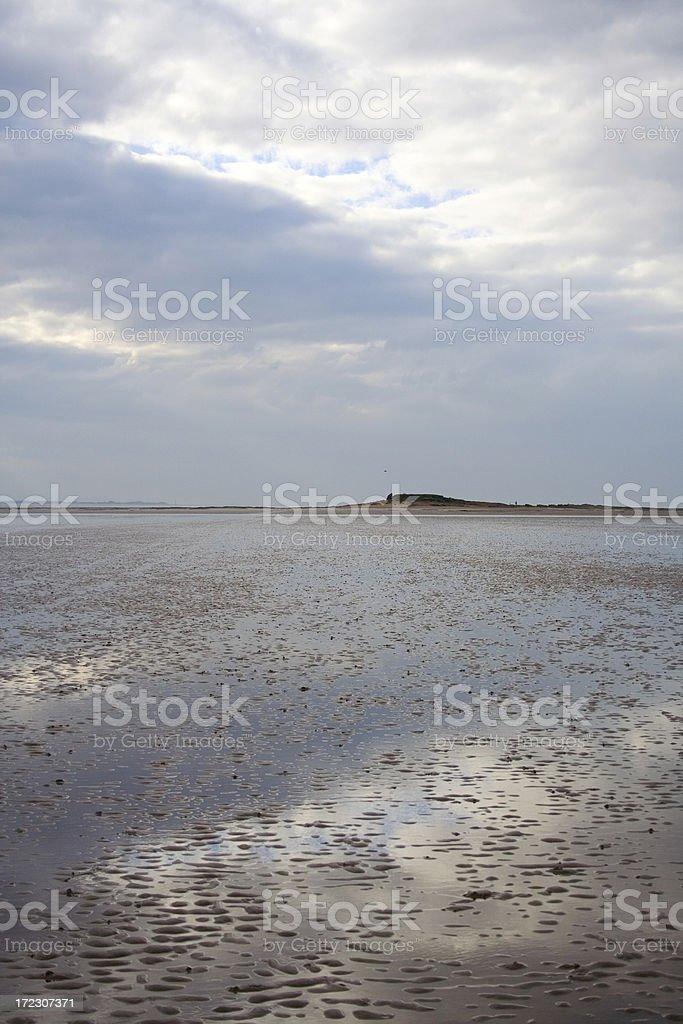 beautiful serene sky reflection royalty-free stock photo