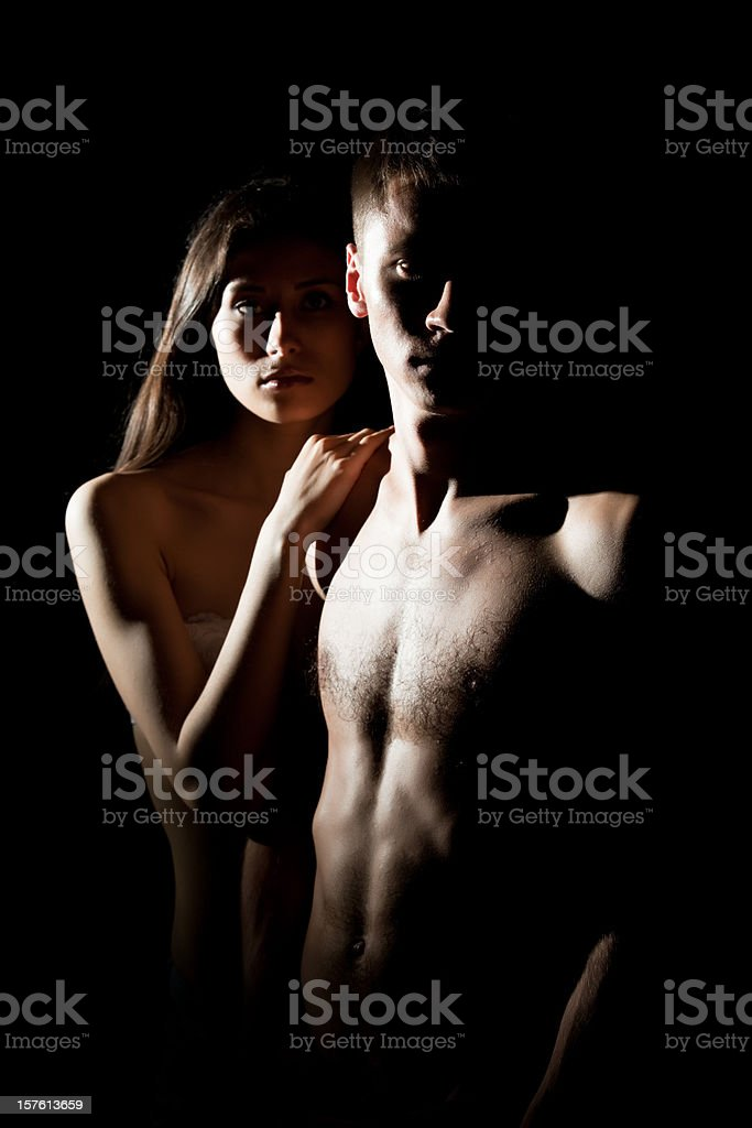 Beautiful Sexy Young Couple royalty-free stock photo