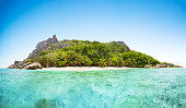 Beautiful Seychelles beach at La Digue
