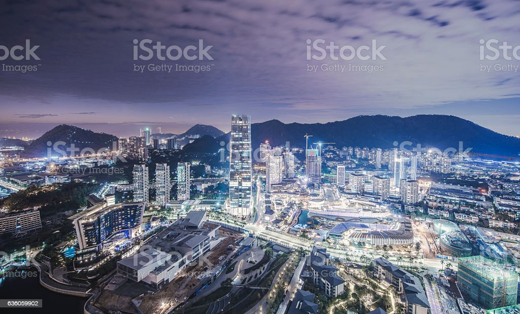 Beautiful Shenzhen stock photo