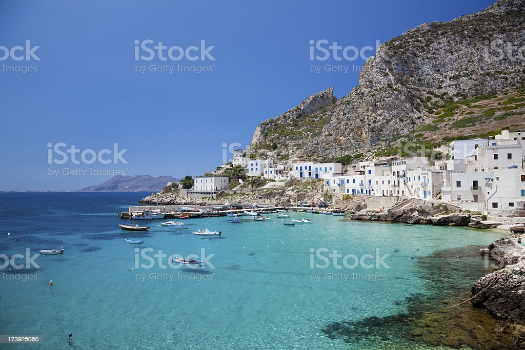 Beautiful Sicily stock photo