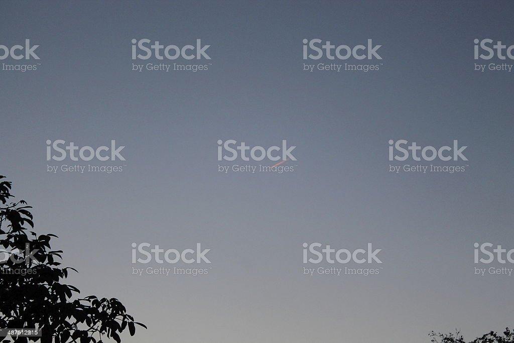 Beautiful sky at sunset royalty-free stock photo