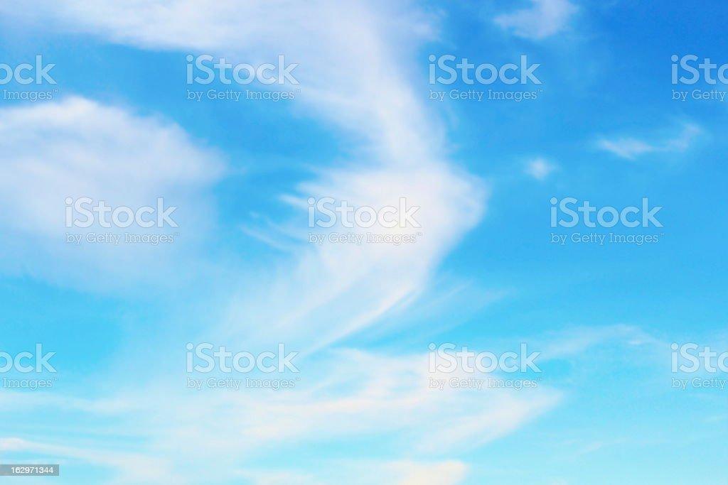 beautiful sky background royalty-free stock photo