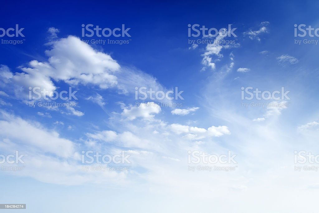 Beautiful sky royalty-free stock photo