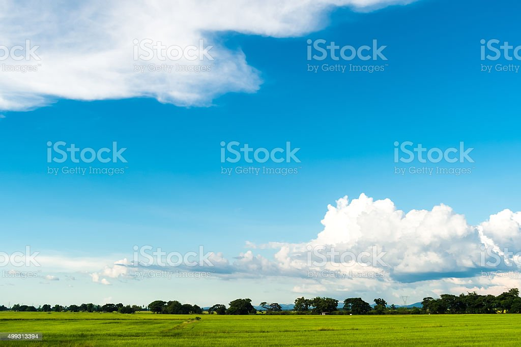 Beautiful sky when going outside stock photo