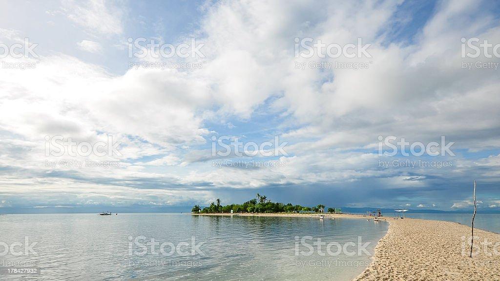 beautiful small tropical island royalty-free stock photo