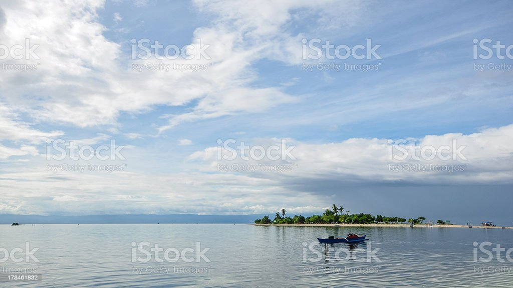 beautiful small tropical island royalty-free stock photo