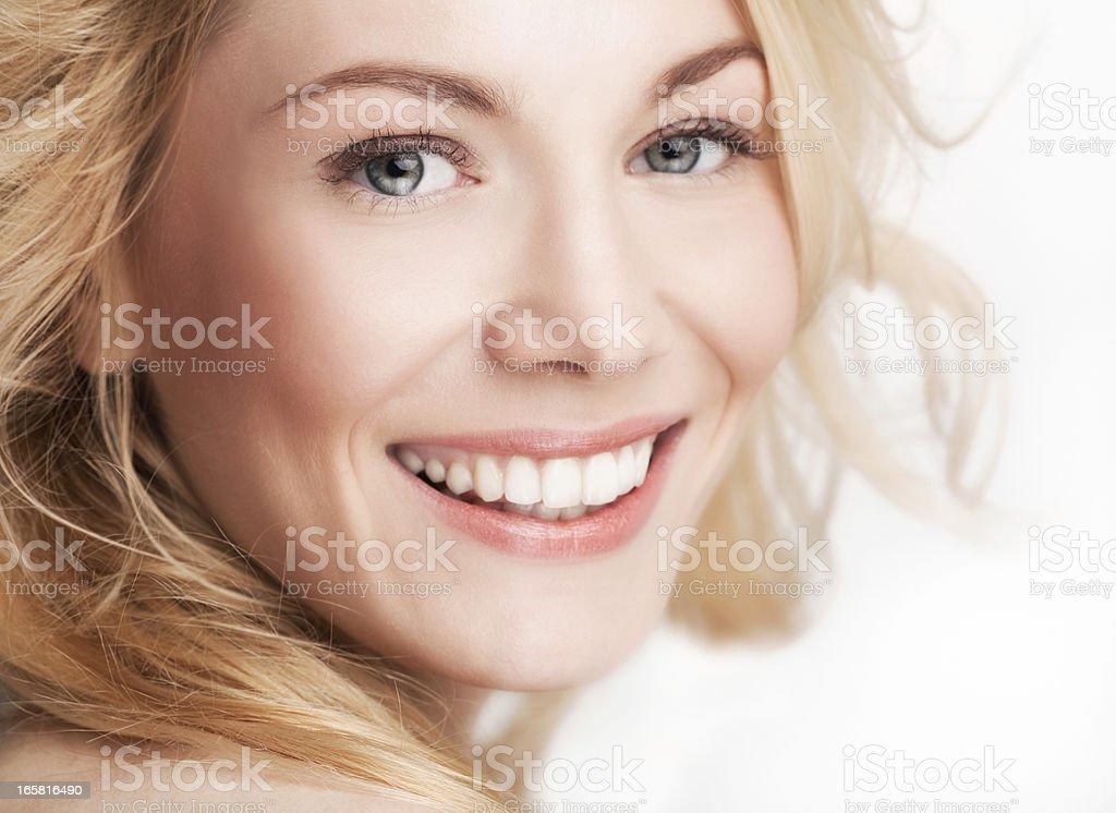 Beautiful Smile stock photo