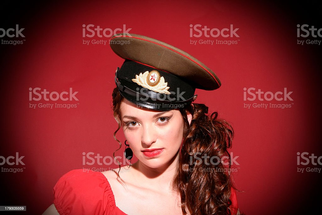 Beautiful Soldier royalty-free stock photo