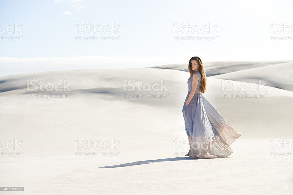 Beautiful solitude stock photo