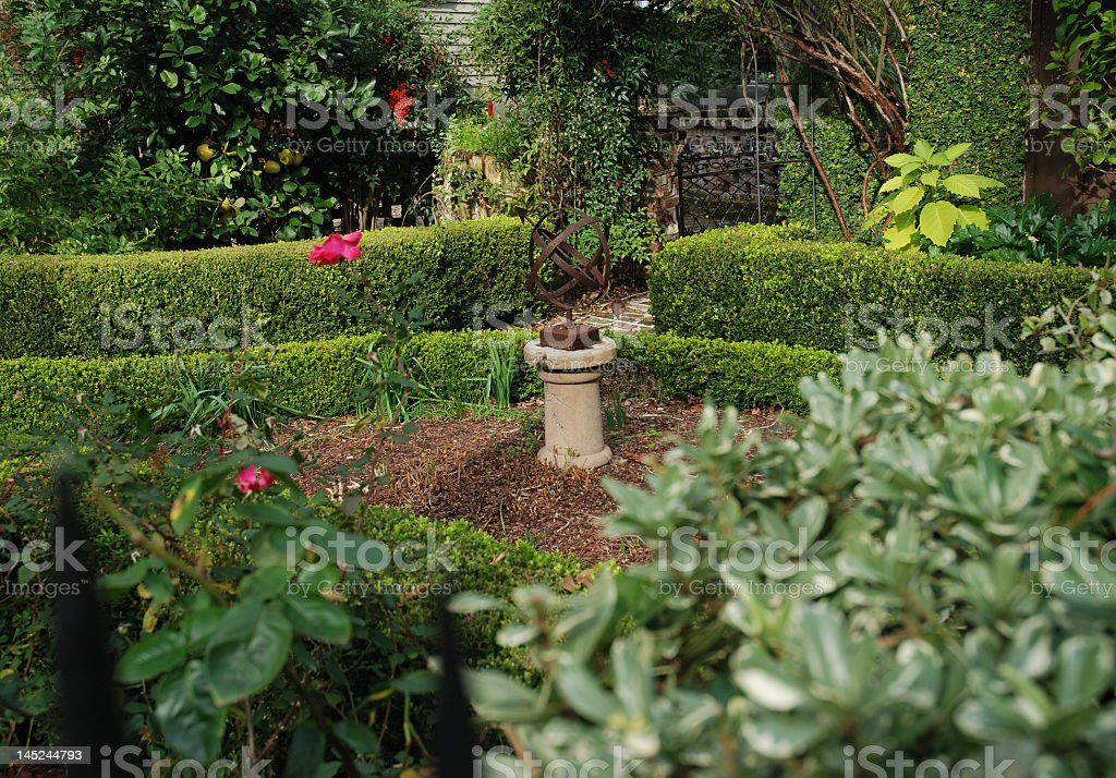 Beautiful Southern Garden royalty-free stock photo