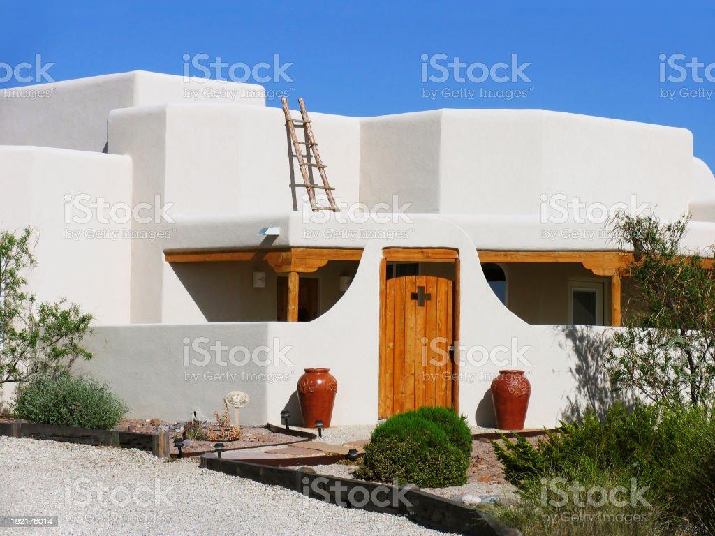Beautiful Southwestern Home stock photo