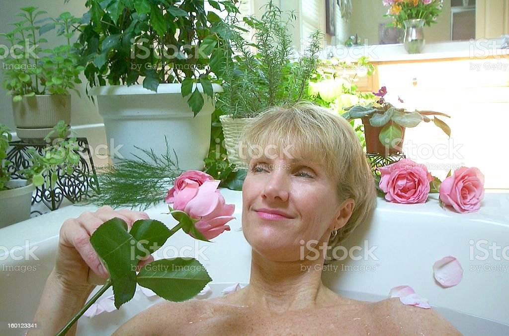 Beautiful Spa Day royalty-free stock photo