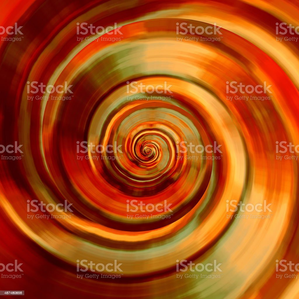 Beautiful spiral background design. Time travel technology. Shiny textured material. vector art illustration