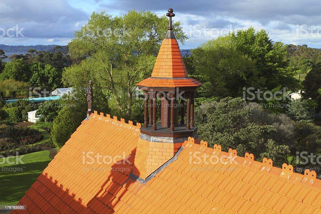 Beautiful spire royalty-free stock photo