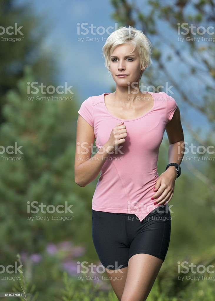 Beautiful Sporty Woman royalty-free stock photo