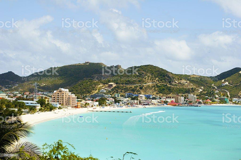 Beautiful St. Maarten-St. Martin stock photo