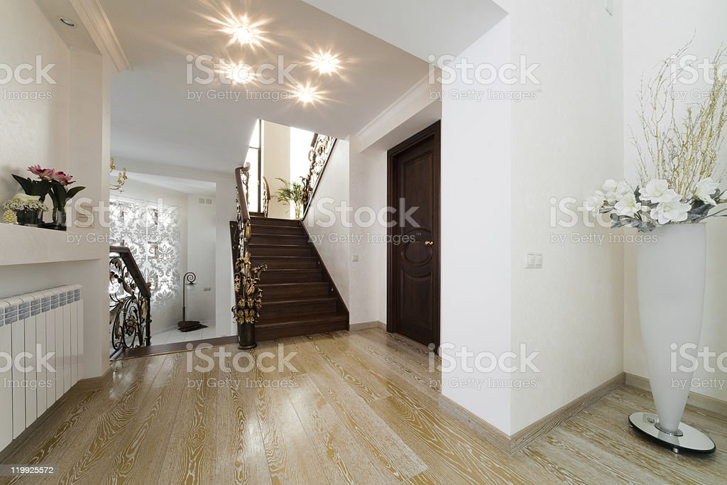 beautiful staircase royalty-free stock photo