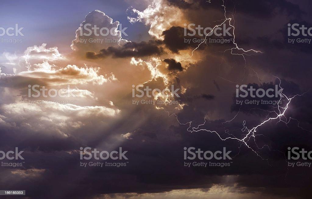Beautiful Storm royalty-free stock photo