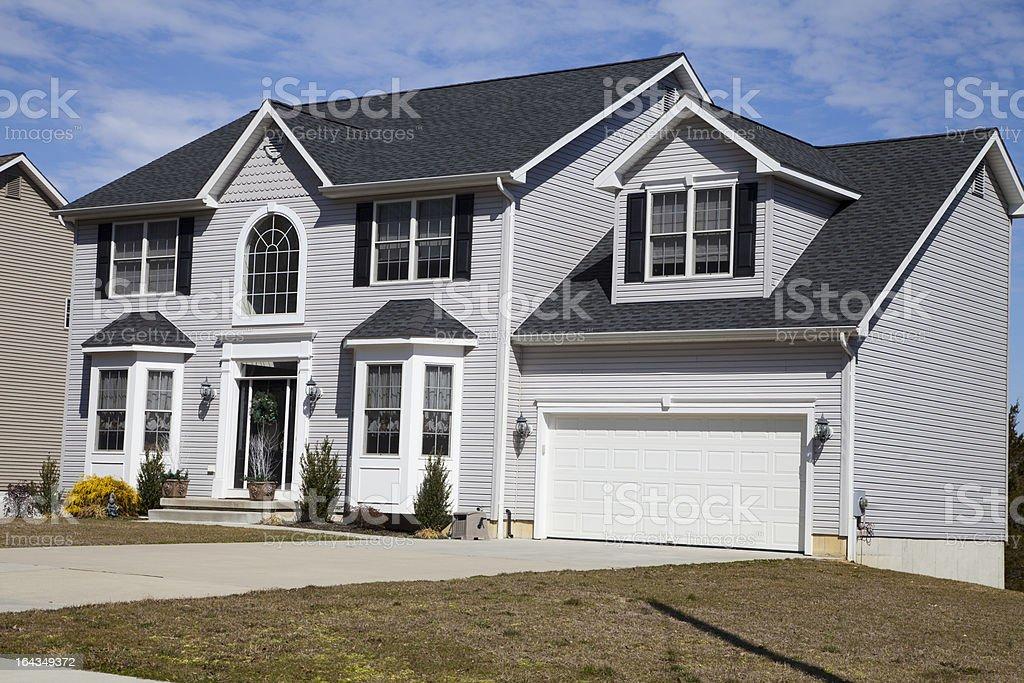 Beautiful Suburban House royalty-free stock photo