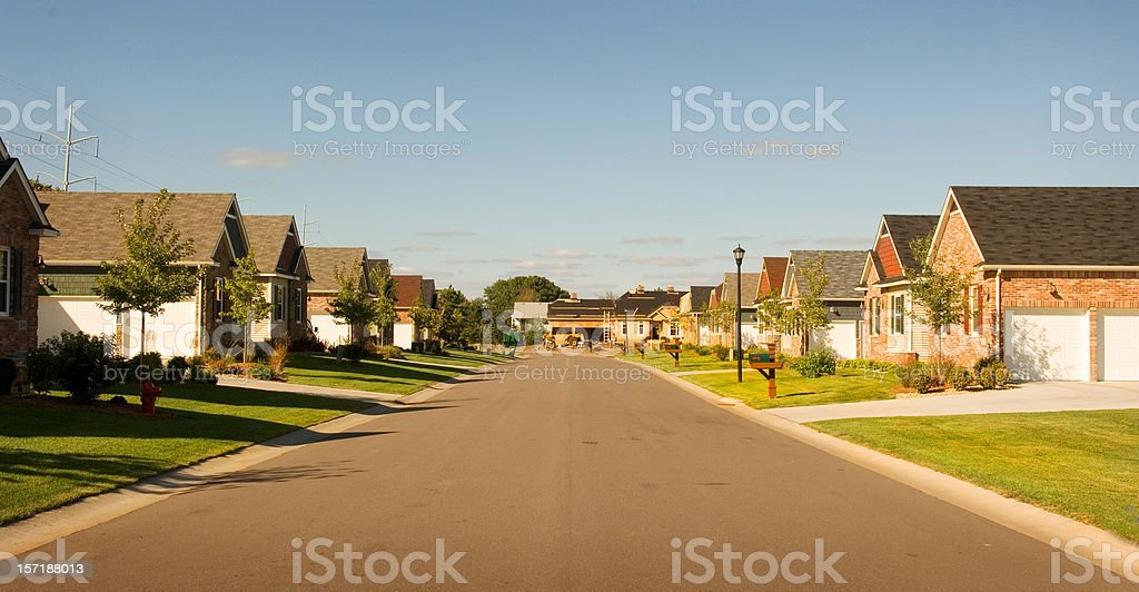 beautiful Suburbia royalty-free stock photo