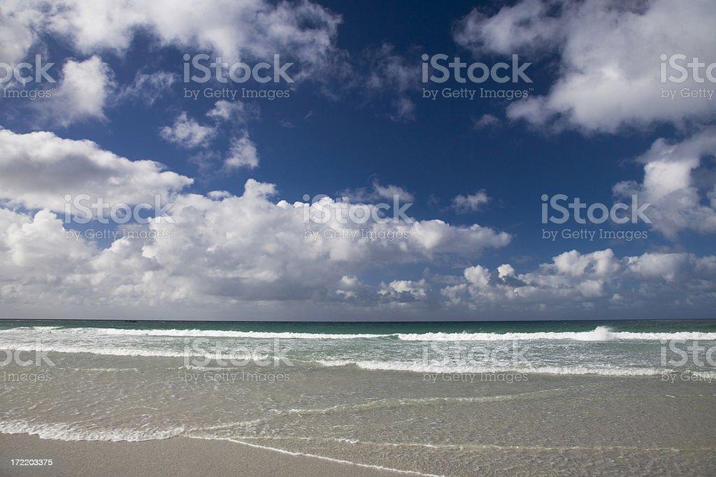 Beautiful Summer Beach royalty-free stock photo