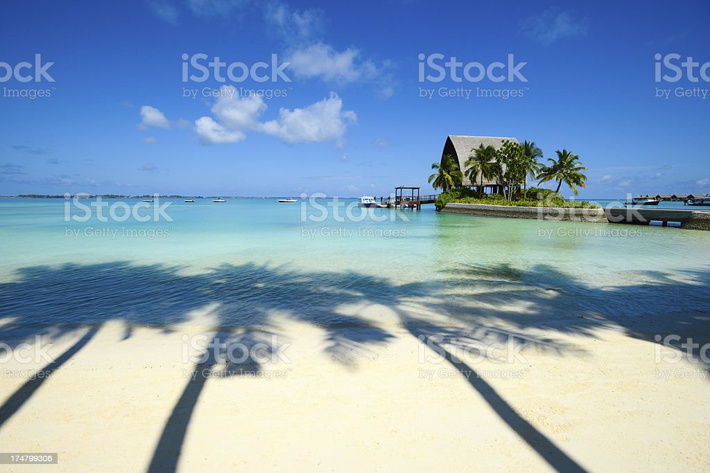 Beautiful Summer Resort stock photo