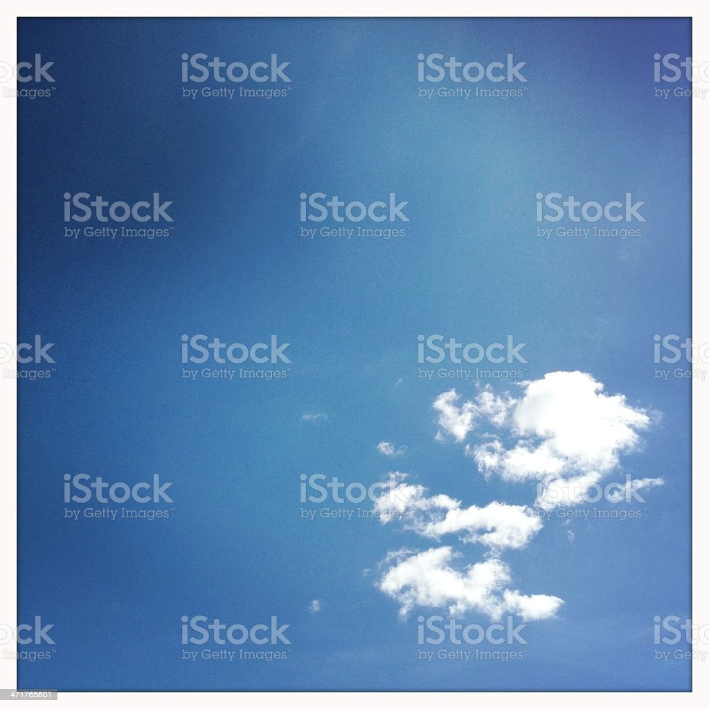 Beautiful Summer Sky royalty-free stock photo