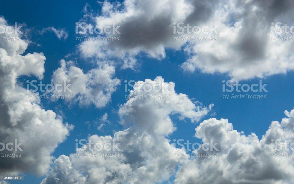 Hermoso cielo de verano foto de stock libre de derechos