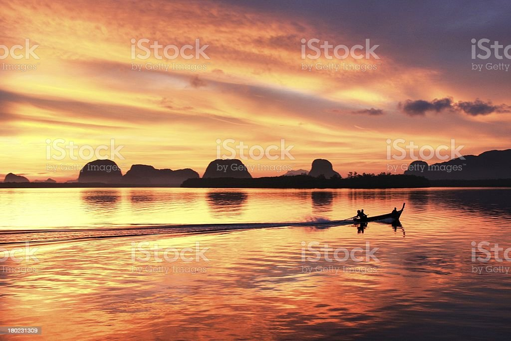 Beautiful sunrise royalty-free stock photo