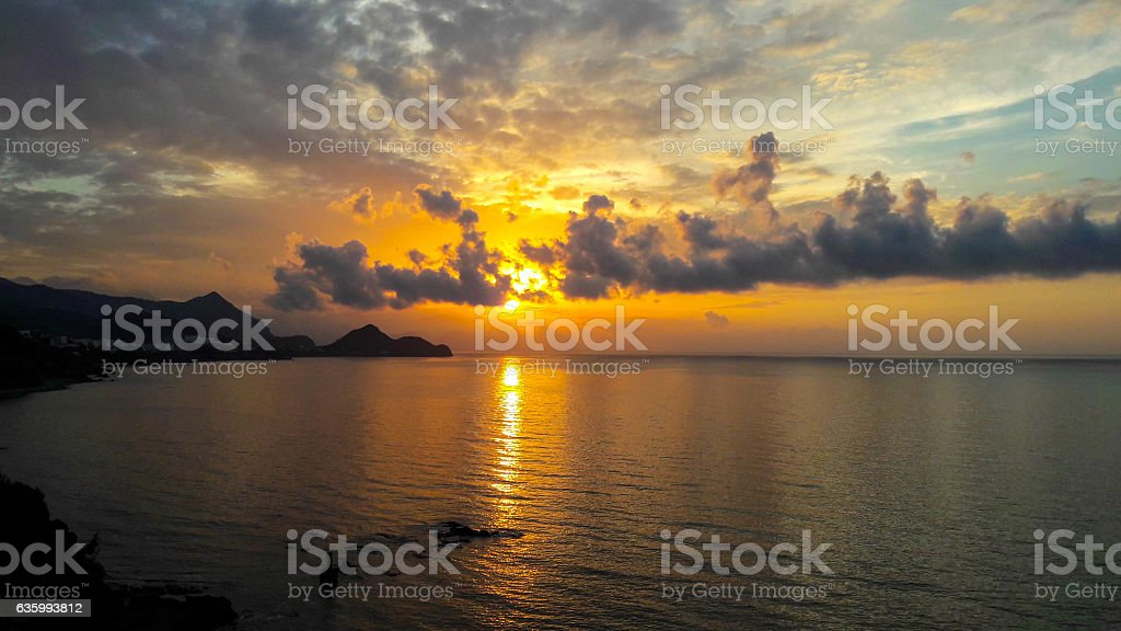 Beautiful Sunset 9 stock photo