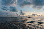 Beautiful Sunset at Pak Meng Beach