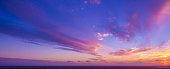 Beautiful sunset in Florida
