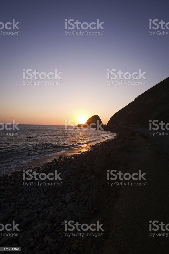 Beautiful sunset royalty-free stock photo